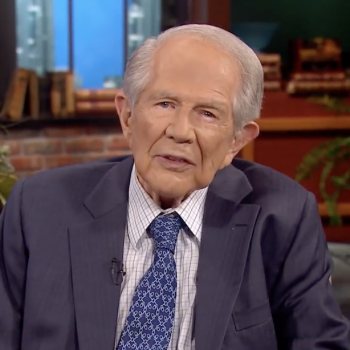 Pat Robertson Tells Non-Profit Leader to Pray With Her Uncomfortable Volunteers
