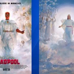 Mormons Could Sue Over Deadpool Poster That Resembles Church Painting