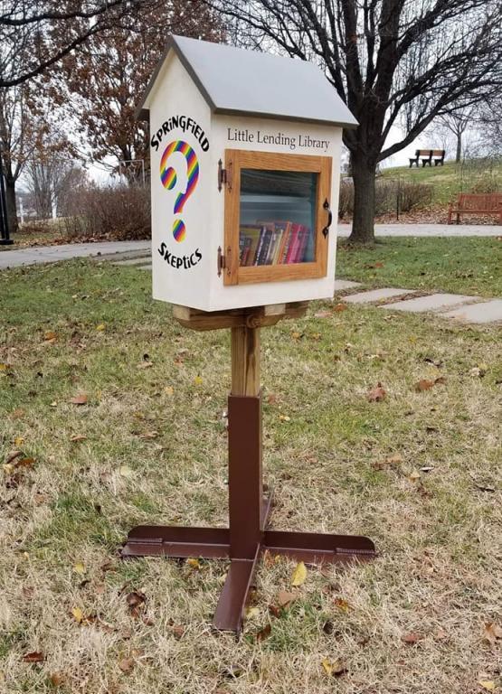 Springfield (MO) Skeptics Install Atheist Library Next to