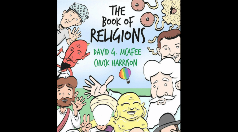 Kids Can Create Their Own Religion With This New Secular Children's Book