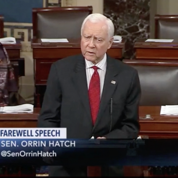 Without Specifics, Retiring GOP Senator Calls for Compromise with LGBTQ People