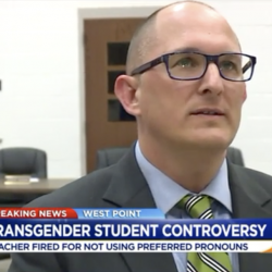 A VA District Was Right to Fire a Teacher Who Refused to Respect a Trans Student