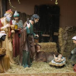 Across the U.S., the Baby Jesus Is Now Bolted Down and Under Camera Surveillance