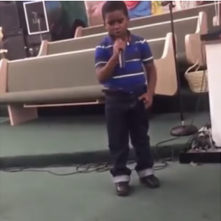 """This Six-Year-Old Boy Told a Church Audience, """"I'm Tired of This Church"""""""