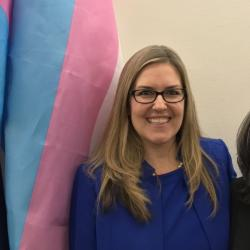 Newly Elected Virginia Congresswoman Flies Trans Pride Flag Outside Office