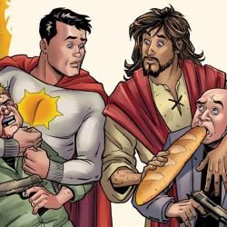 """Blasphemous"" Jesus Christ Comic Was Killed, But Creators Seek Resurrection"