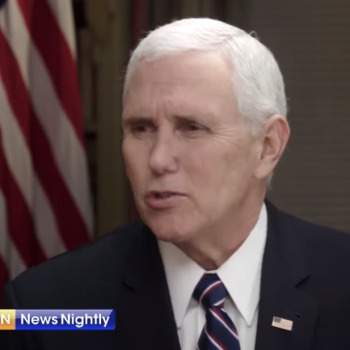 Mike Pence Falsely Claims Critics Are Attacking His Wife's Christian Faith