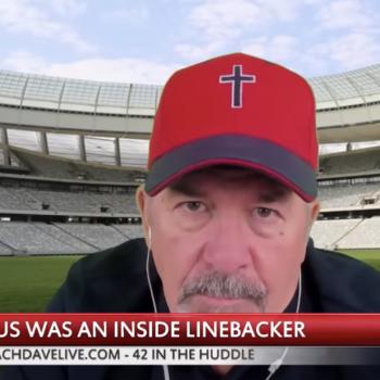Dave Daubenmire: Jesus Would Have Been an Inside Linebacker on a Football Team
