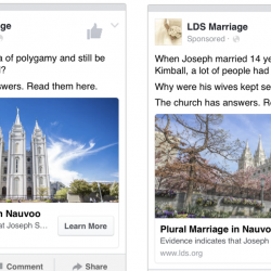Some Ex-Mormons Used Facebook Ads to Tell Believers the Truth About the Church