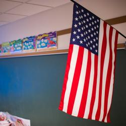 An Illinois Dad is Furious That a Local Teacher Won't Stand for the Pledge