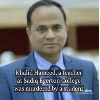 PakistaniMan Stabs Professor to Death for Throwing Co-Ed Party for New Students