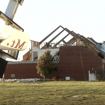 """A Tornado Tore the Roof Off a KY Christian School As Kids Sang """"Jesus Loves Me"""""""