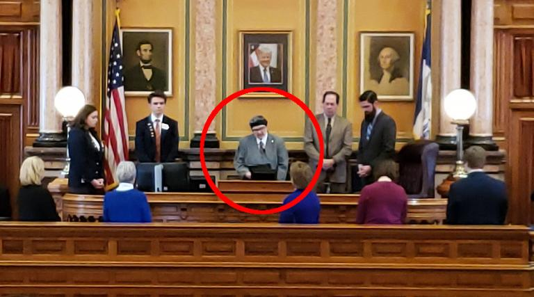 "In Invocation, Atheist Tells Iowa Lawmakers That Good Ideas ""Are Evidence-Based"""