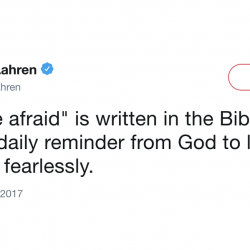 """Why This """"Don't Be Afraid"""" Christian Meme Is a Double Lie"""