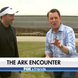 Creationists Paid FOX & Friends to Post a Clip About Ark Encounter on Facebook