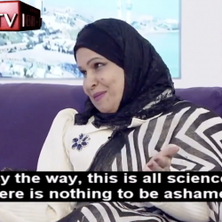 "Kuwaiti Woman Promotes Semen-Eating, Butt-Worm-Killing Pills to ""Cure"" Gayness"