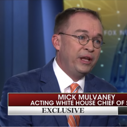 """Mick Mulvaney: Trump Lets Us Take Our """"Faith and Work It Into Our Policies"""""""