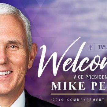 Mike Pence's Upcoming Commencement at a Christian Univ. is Already Causing Chaos