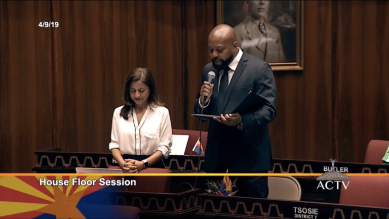 """Humanist Delivers Invocation in AZ House: """"Be the Lighthouses of Reason"""""""