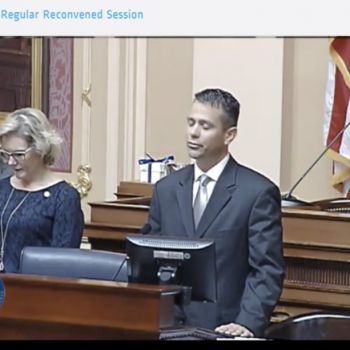 Baptist Preacher's Invocation in Virginia House Condemns Non-Christians to Hell