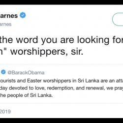 FOX Host Slams Dems (But Not Trump) Over Not-Christian-Enough Sri Lanka Tweets