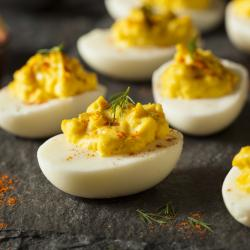 """The Duggar Family Seriously Calls Deviled Eggs """"Yellow Pocket Angel Eggs"""""""