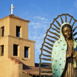 Santa Fe Officials Want a Local Church's Blessing Before Approving New Banners