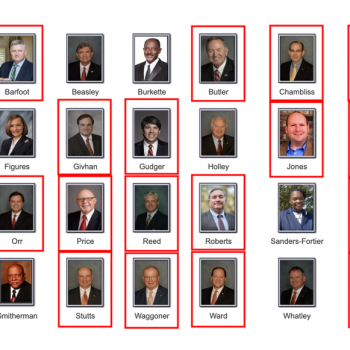 All 25 White Male GOP Senators Who Voted for the AL Abortion Ban Are Christian