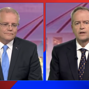 Before Australia's Election, Political Leaders Are DebatingIf Gays Go To Hell