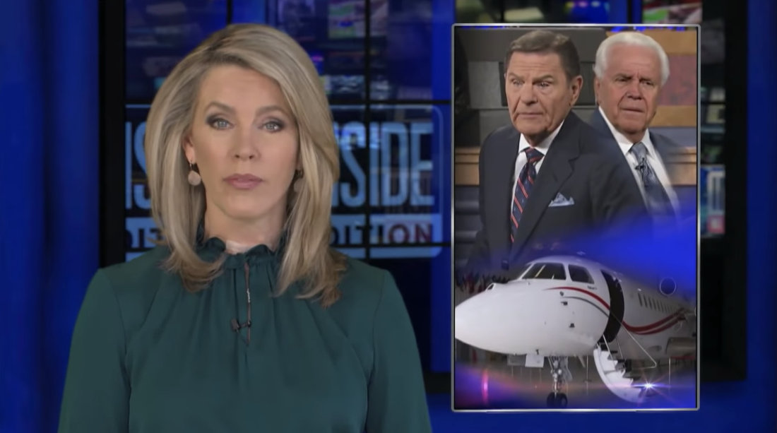 """Private Jet-Loving Megachurch Pastors Exposed by """"Inside Edition"""