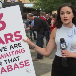 Protesters at Southern Baptist Convention Meeting Call for Database of Predators