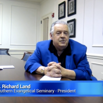 Richard Land: God Blesses America By Putting Republicans in the White House
