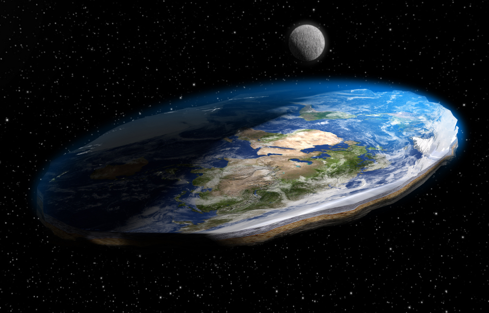 Creationists Are Mocking Flat Earthers for Not Understanding