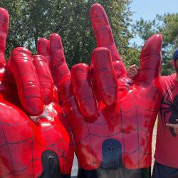 NE Woman Demands Spiderman Sculpture Come Down Because She Thinks It's the Devil