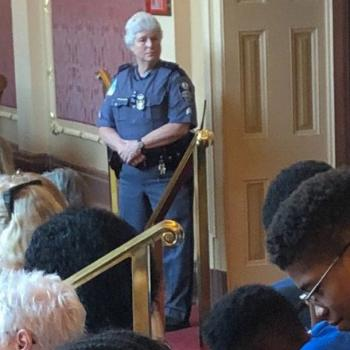 A Cop Forced a Black Boy to Stand During the Pledge at a VA Legislative Session