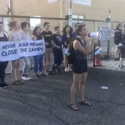 36 Jews Arrested for Protesting Outside ICE Detention Center in New Jersey