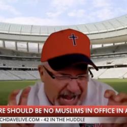 "Dave Daubenmire Trashes Muslims in Politics: ""Multiculturalism is Cultural AIDS"""