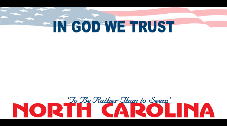 "North Carolina Now Offers ""In God We Trust"" License Plates"