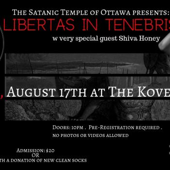 """The Satanic Temple Will Host a """"Black Mass"""" (and Charity Drive) in Canada"""