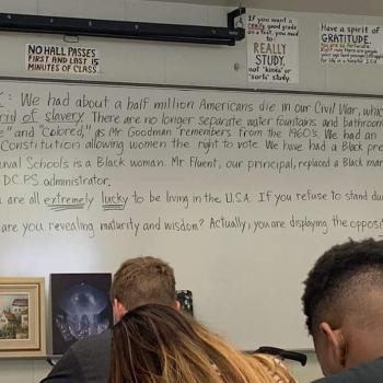 FL Teacher Removed From Class Over Message Saying Pledge Protests Are Immature