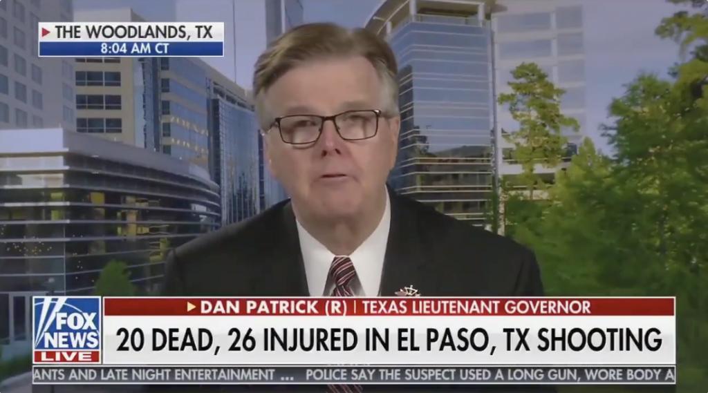 TX Paper Fact-Checks Lt. Gov. Who Blamed Mass Shooting on Lack of School Prayer