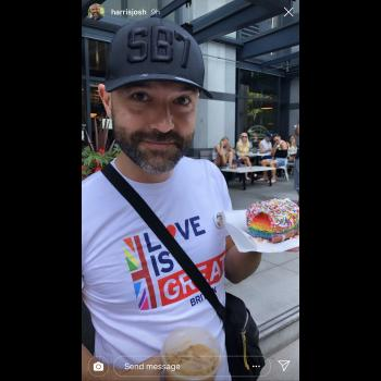 """Ex-""""Purity"""" Advocate Joshua Harris Angers Christians by Going to a Pride Parade"""