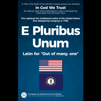 """Atheist Group Wants to Help Other KY Schools Sidestep the """"In God We Trust"""" Law"""