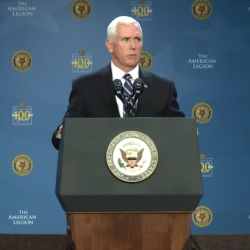 Mike Pence Spreads Lie That President Obama Removed Bibles from VA Hospitals