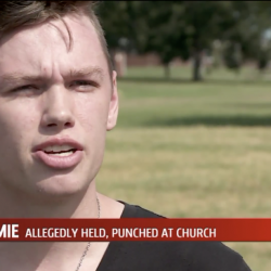 Oklahoma Man Says Local Church Members Pinned Him Down to Pray Away the Gay