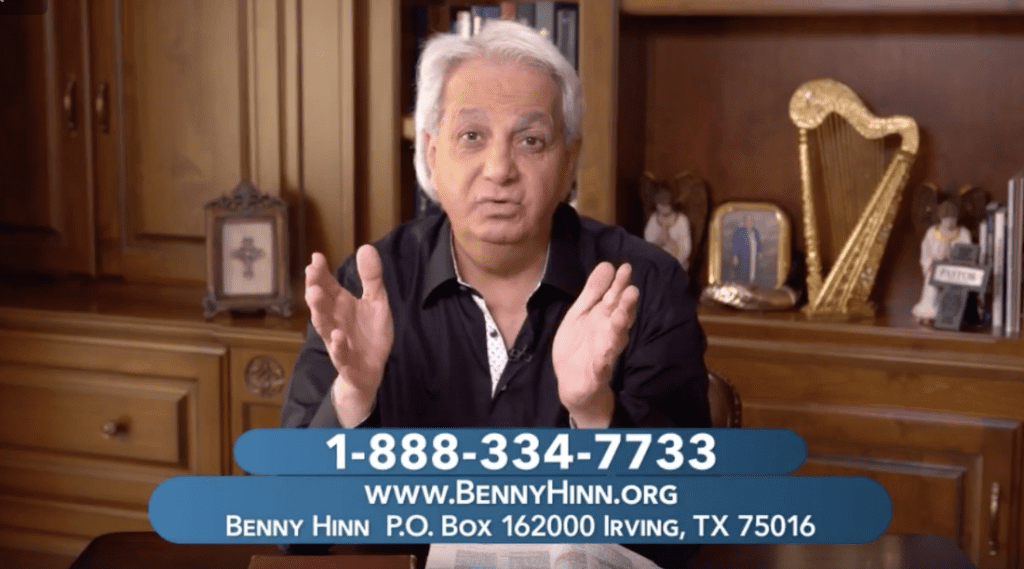 """After """"Rejecting"""" the Prosperity Gospel, Benny Hinn Wants """"Seed Money"""" Again"""