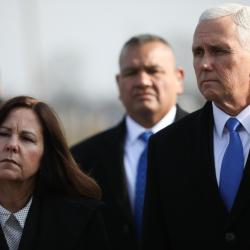 An Enraged Karen Pence Reportedly Refused to Kiss Mike Pence on Election Night