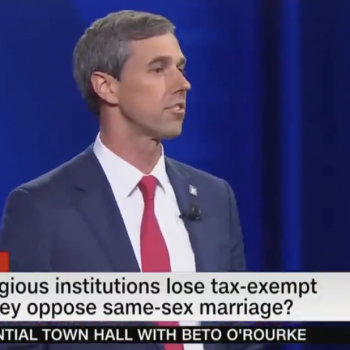 Beto O'Rourke Wants Anti-Gay Churches to Lose Their Tax Exemptions. He's Wrong.