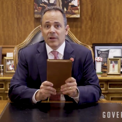 """Kentucky Governor, Again, Promotes Meaningless """"Bring Your Bible to School"""" Day"""