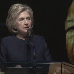 Hillary Clinton Biblically Blasted Trump During Rep. Elijah Cummings' Funeral